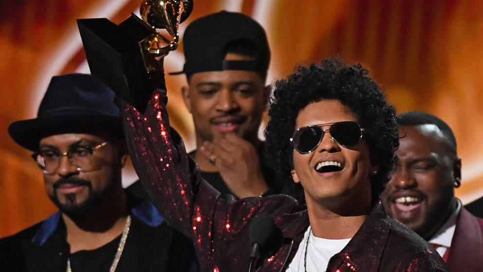 Wurde in sechs Kategorien der Grammy-Awards 2018 ausgezeichnet: Bruno Mars
