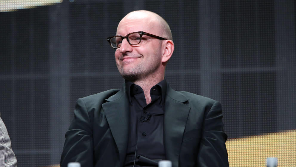 BEVERLY HILLS, CA - JULY 10:  Director/Executive Producer Steven Soderbergh of HBO's The Knick speaks onstage during the HBO