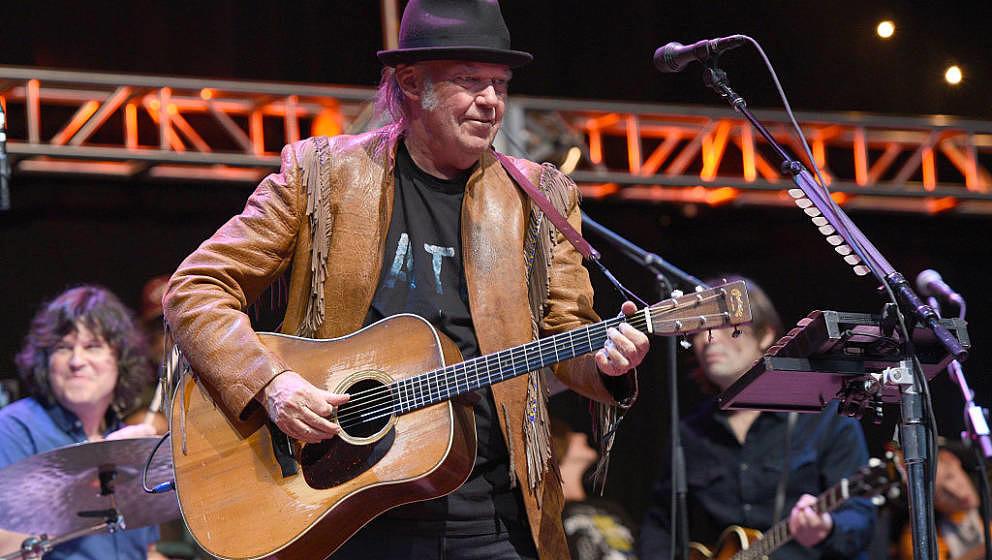 Neil Young ist kein Fan von Donald Trump