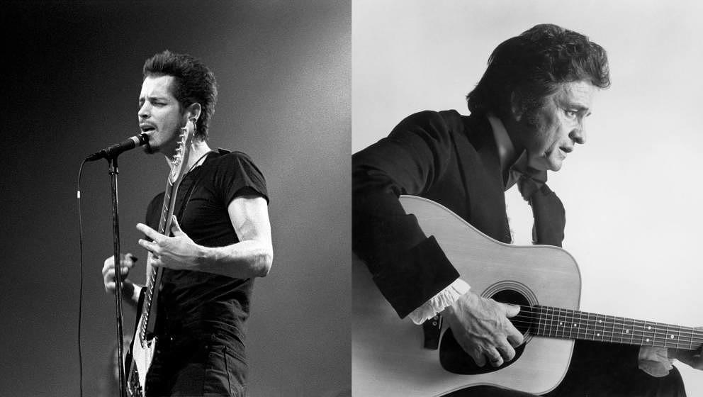 Johnny Cash und Chris Cornell veröffentlichen posthum neue Musik