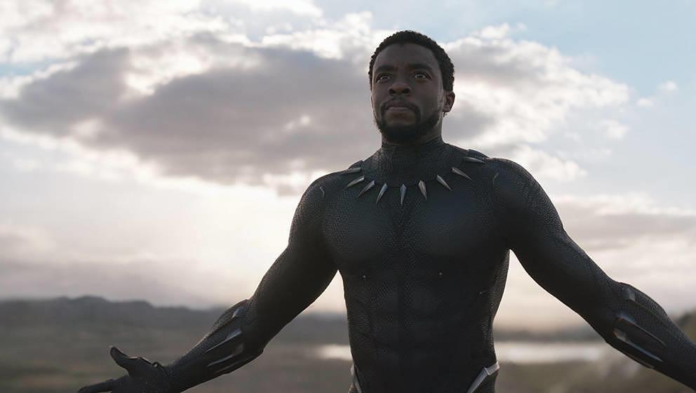 Chadwick Boseman als Black Panther