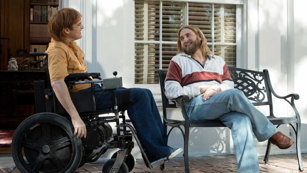 "Joaquin Pheonix und Jonah Hill in ""Don't Worry, He Won't Get Far on Foot"""