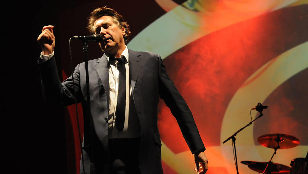 "Roxy Music auf ihrer ""For Your Pleasure""-Tour, 2011 in London"
