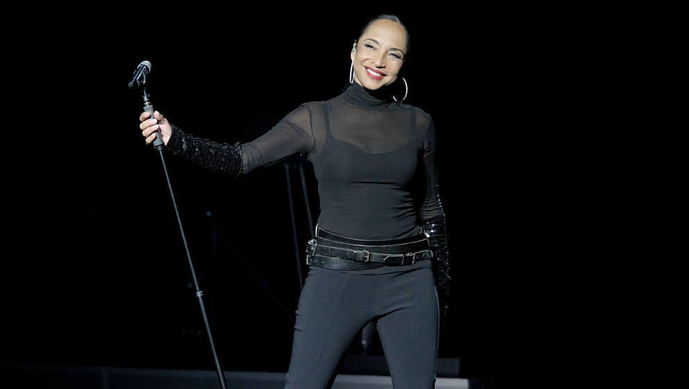 AUSTIN, TX - SEPTEMBER 07:  Vocalist Sade performs in concert at The Frank Erwin Center on September 7, 2011 in Austin, Texas