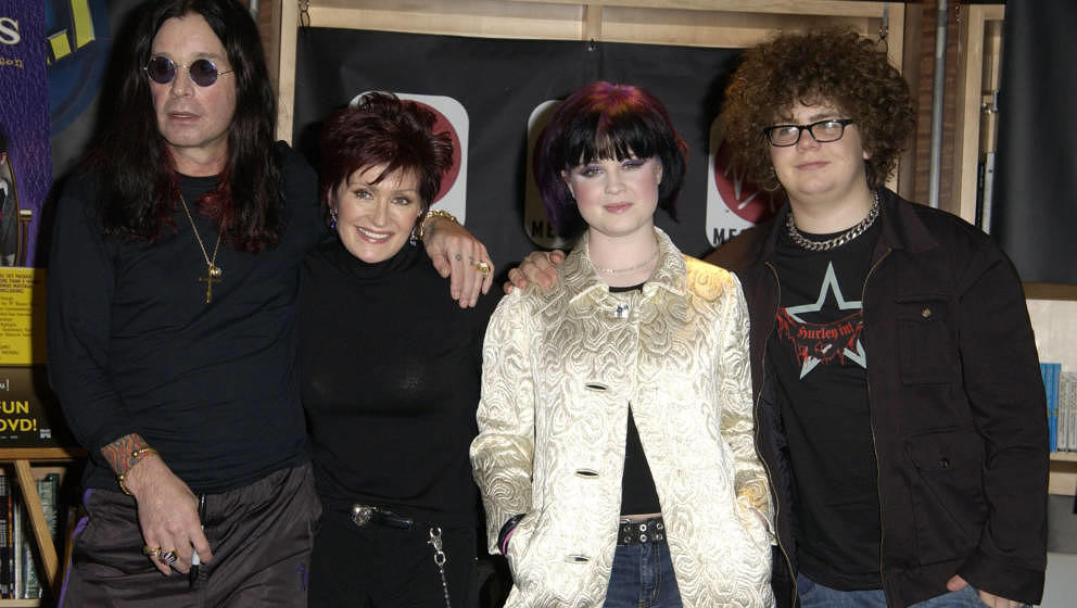 The Osbournes (Photo by SGranitz/WireImage) *** Local Caption ***