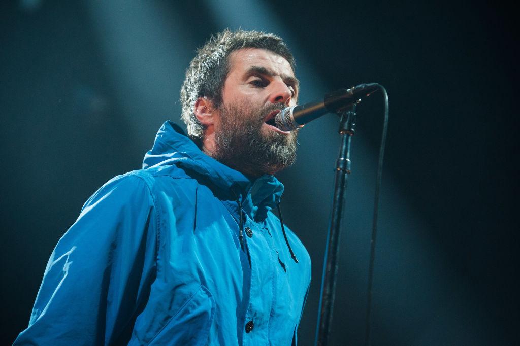 Erkältung trotz Regenjacke: Liam Gallagher, hier am 2. März 2018 live in Paris