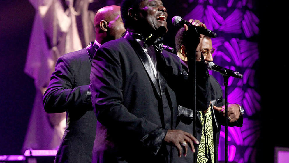NASHVILLE, TN - AUGUST 18:  The Temptations featuring Dennis Edwards performs during NMAAM 2016 Black Music Honors on August