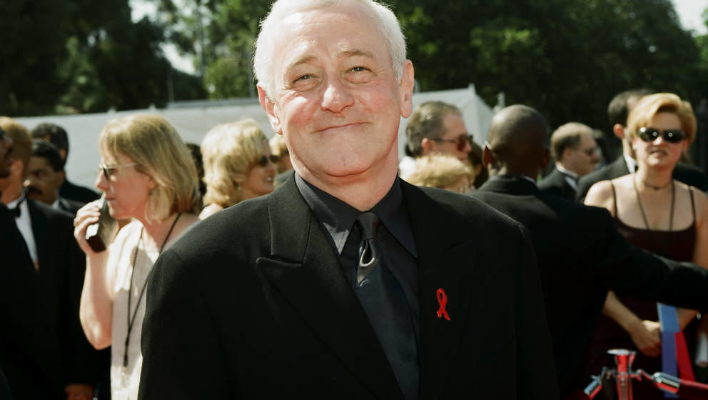THE 50TH ANNUAL PRIMETIME EMMY AWARDS -- Pictured: John Mahoney arrives at the 50th Annual Primetime Emmy Awards held at the