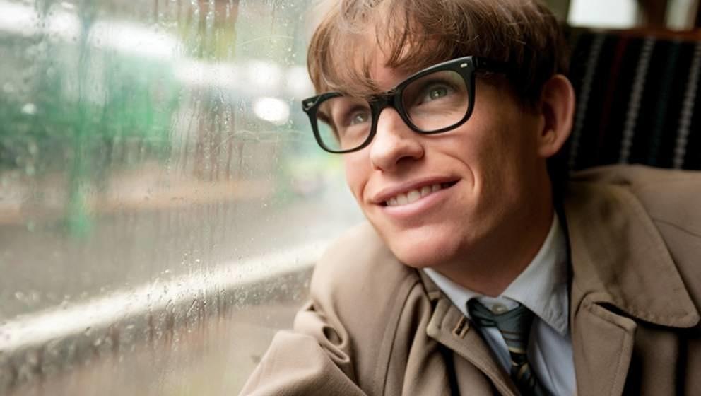 Eddie Redmayne als Stephen Hawking