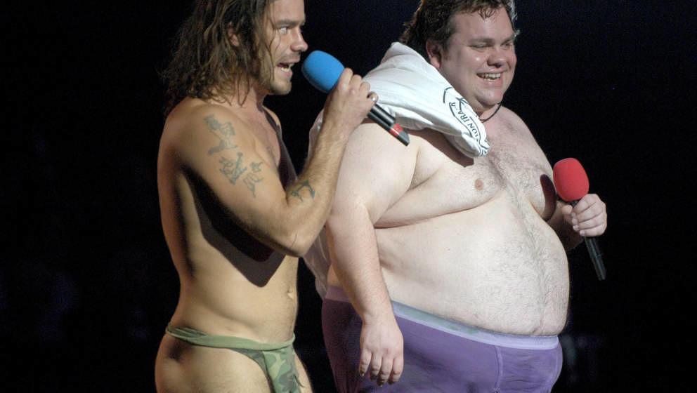 Chris Pontius and Preston Lacy (Photo by Dimitrios Kambouris/WireImage)