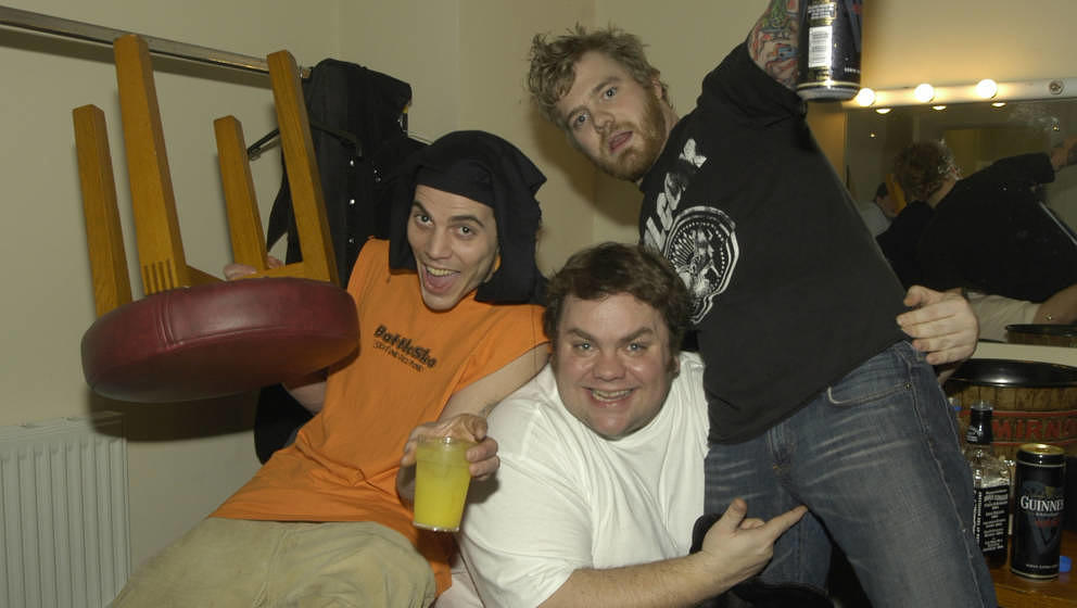 Steve-O, Preston Lacy und Ryan Dunn in jüngeren Jahren.