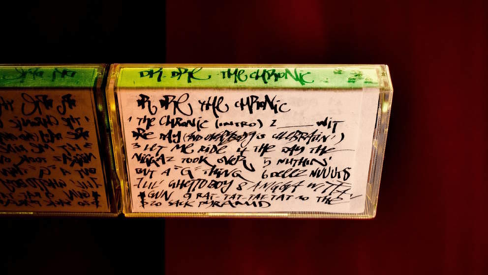 Romanos selbst aufgenommenes Tape mit Dr. Dres THE CHRONIC (1992)