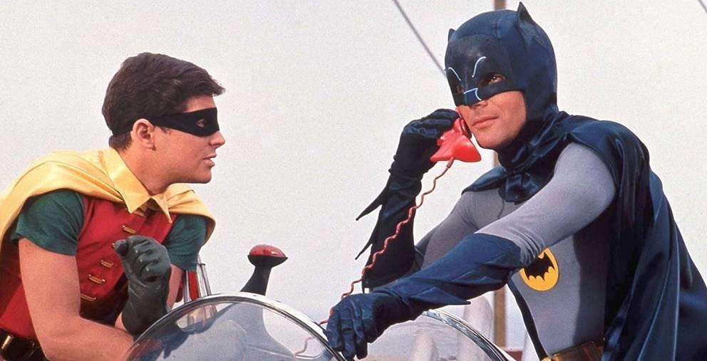"Szene aus ""Batman hält die Welt in Atem""."