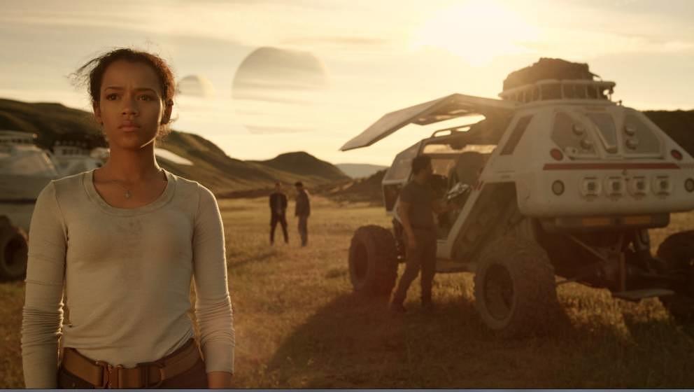 """Szene aus """"Lost in Space""""."""
