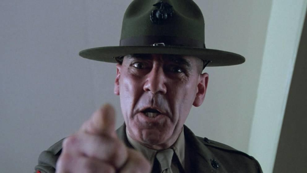 "R. Lee Ermey in ""Full Metal Jacket"""
