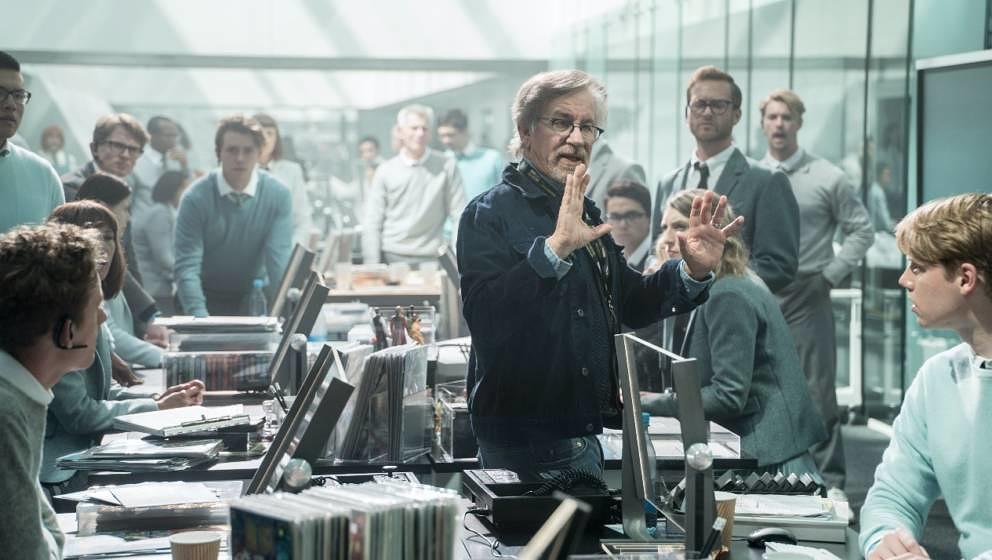 """Steven Spielberg am Set von """"Ready Player One"""""""