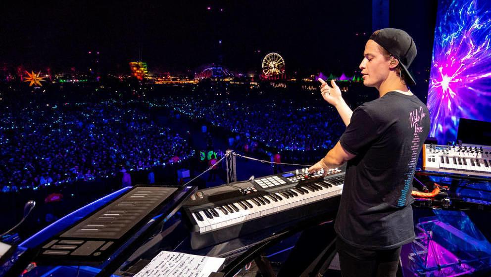 Kygo am 20, April 2018 beim Coachella: Zum Abschluss seines Sets gedachte er des toten Avicii