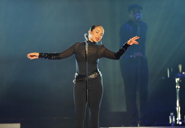 LONDON, UNITED KINGDOM - MAY 31: Sade performs on stage at O2 Arena on May 31, 2011 in London, United Kingdom. (Photo by Gus