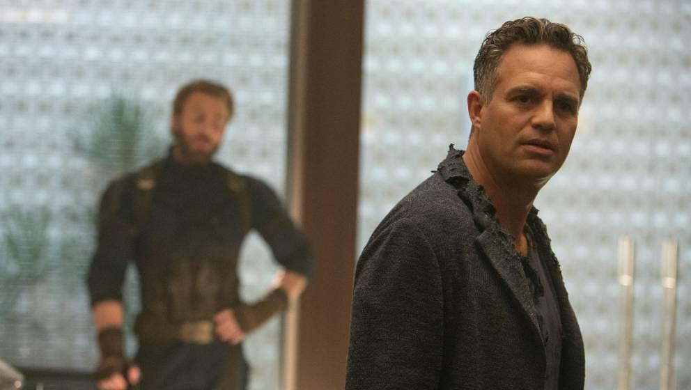 "Mark Ruffalo in ""Avengers: Infinity War""."