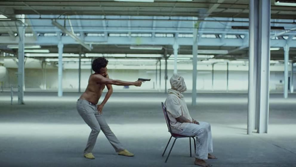 "Childish Gambino in ""This Is America""."