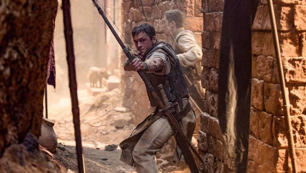 Ist mal wieder auf der Leinwand zu sehen: Robin Hood.