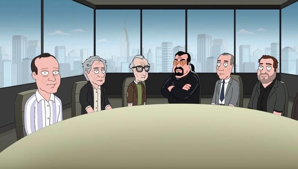 """Die """"Offenders"""" in der Serie """"Family Guy""""."""