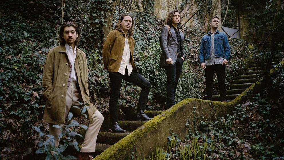 Die Arctic Monkeys im Jahr 2018