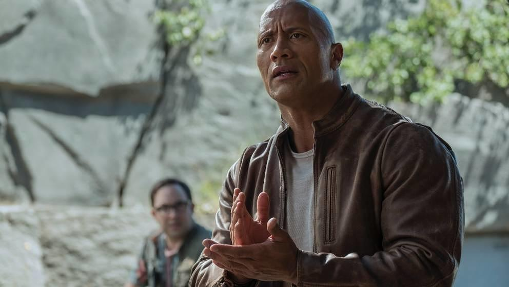 "Dwayne Johnson in ""Rampage""."