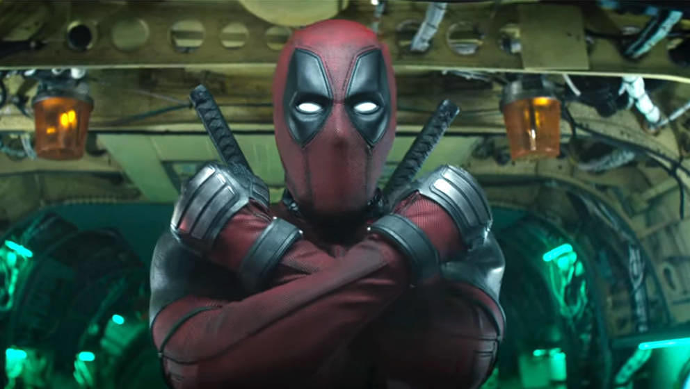 Ryan Reynolds als Deadpool.