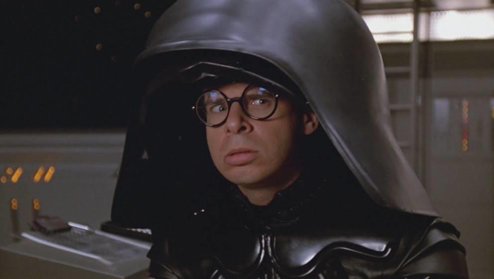 """Kultfigur: Rick Moranis als Lord Helmchen in Mel Brooks' Komödie """"Spaceballs"""""""