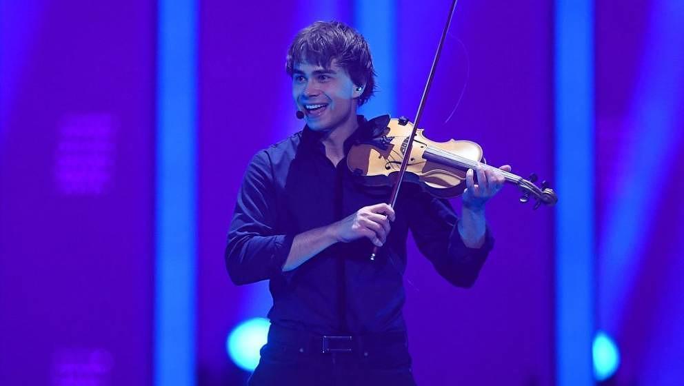 Will erfolgreich erklären, wie man einen Song schreibt: Alexander Rybak aus Norwegen im zweiten Halbfinale des ESC 2018