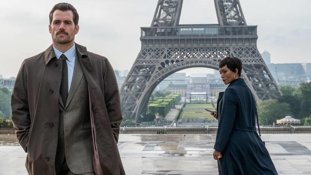 "Henry Cavill und Angela Bassett in ""M:I – Fallout""."