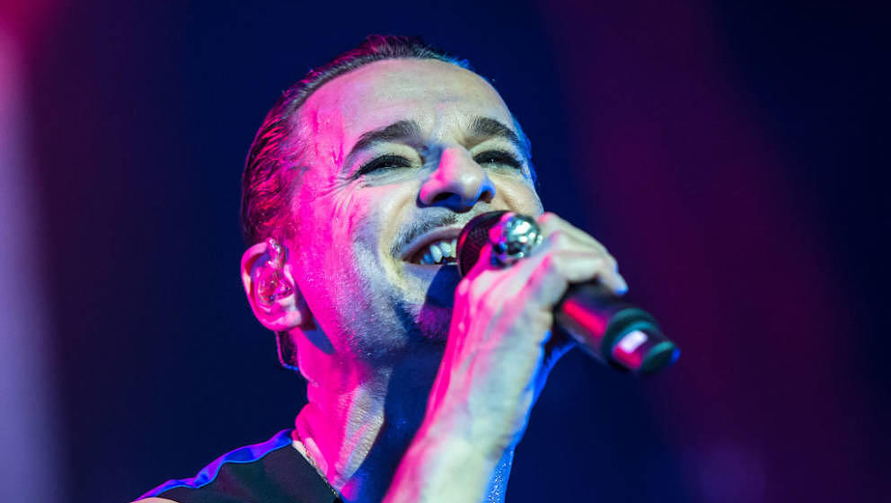 Dave Gahan, hier live mit Depeche Mode am 27. Januar 2018 in Mailand