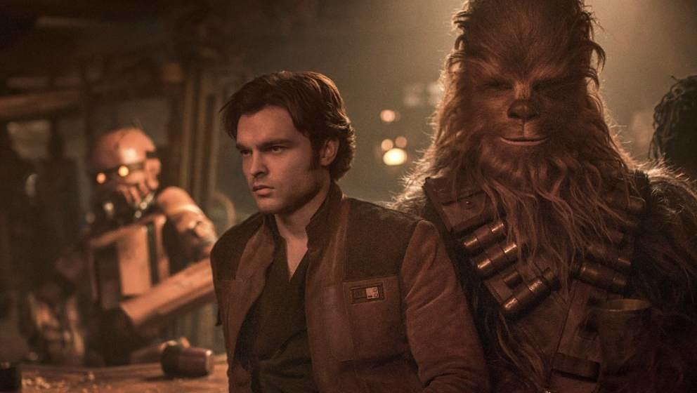 Alden Ehrenreich als Han Solo.