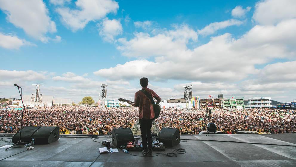So groß wie entspannt: das Nos Alive Festival in Lissabon