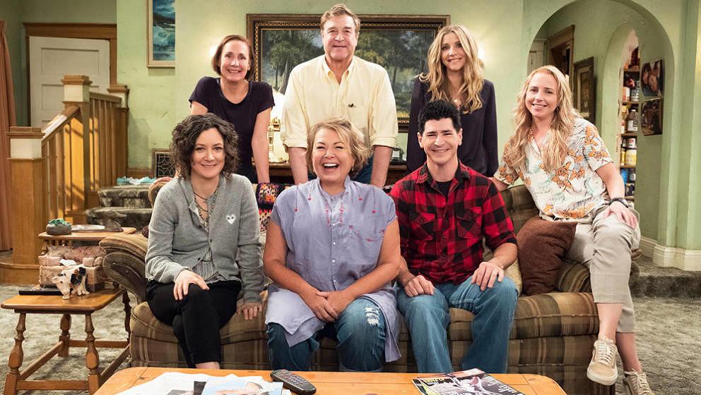 """Der Cast von """"Roseanne""""."""