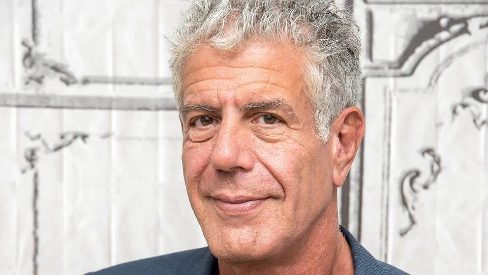 NEW YORK, NY - NOVEMBER 02:  Anthony Bourdain visits the Build Series to discuss 'Raw Craft' at AOL HQ on November 2, 2016 in