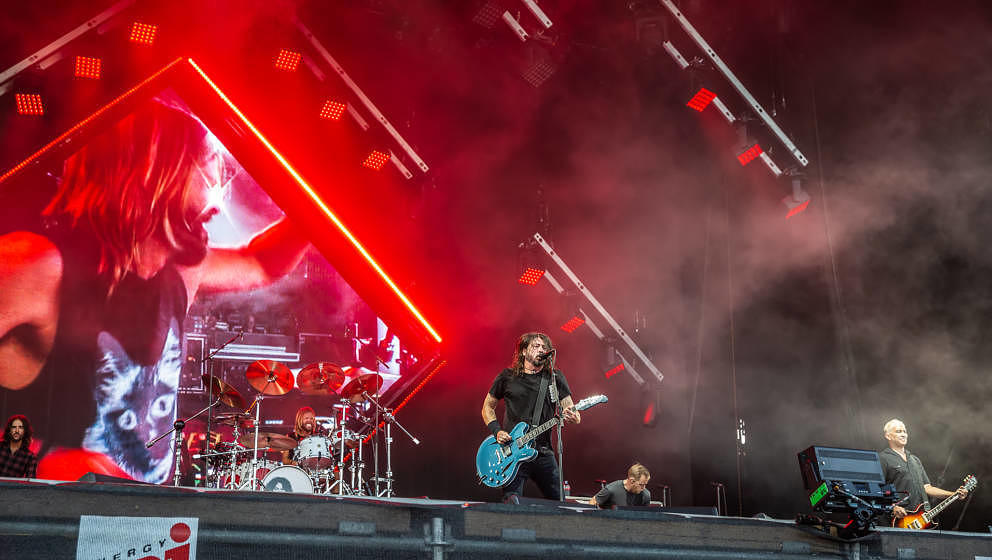 Foo Fighters bei Rock im Park 2018