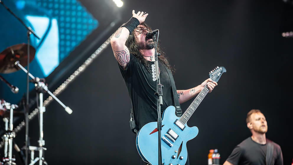 Foo Fighters bei Rock im Park 2018