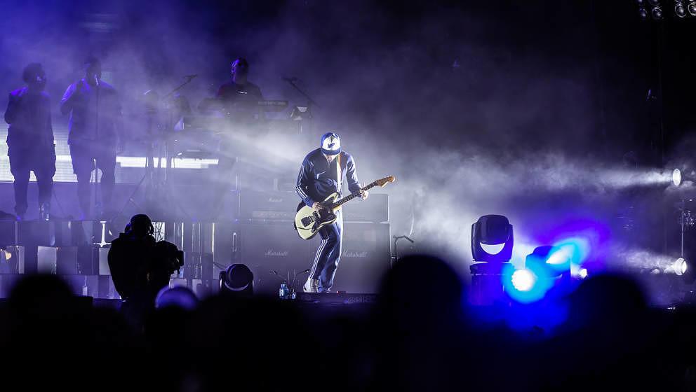 Gorillaz bei Rock im Park 2018