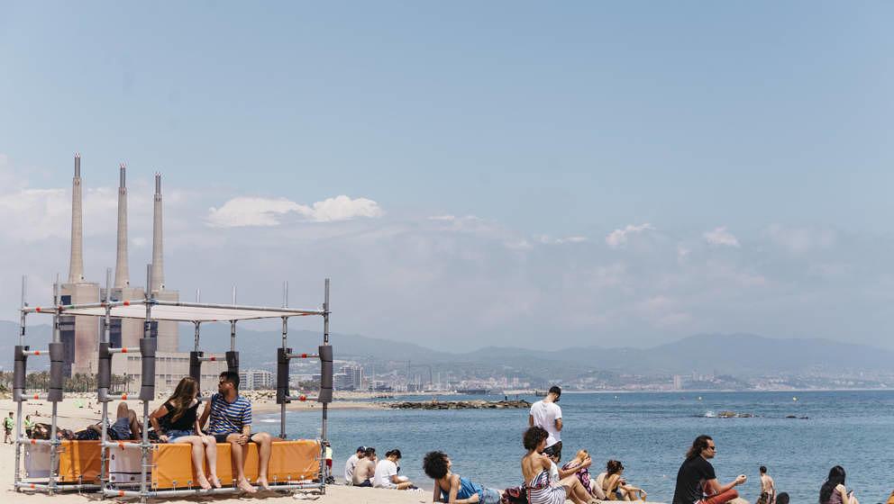 Ein Festival direkt am Meer: Beim Primavera Sound 2018 kann man sogar baden gehen.