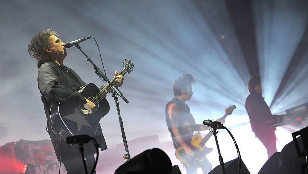 The Cure perform at SSE Arena Wembley on December 1, 2016 in London, England.