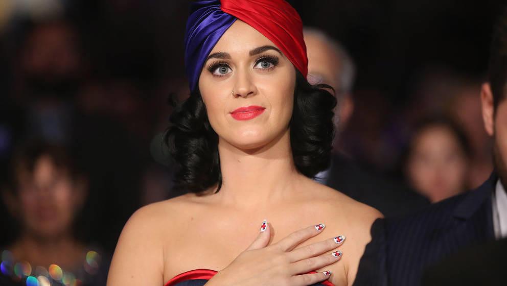 Katy Perry bei einer Dinnerveranstaltung im Jahr 2015
