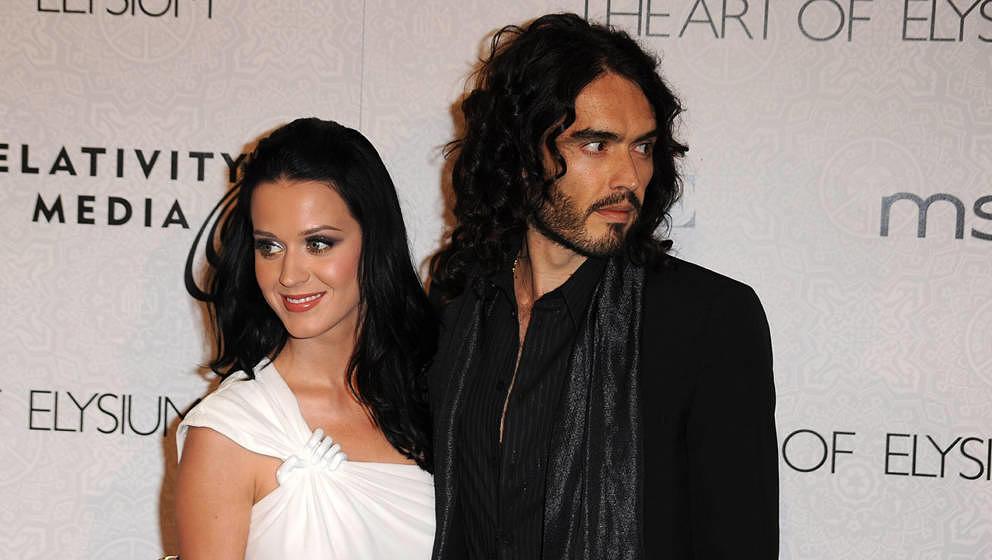 Katy Perry und Russell Brand im Jahr 2010
