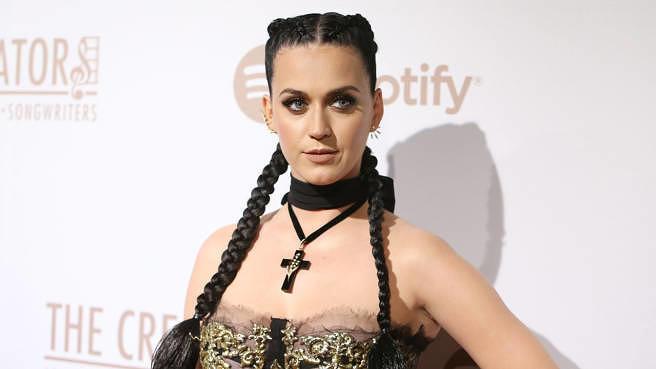 Katy Perry bei einer Party von Spotify im Jahr 2016
