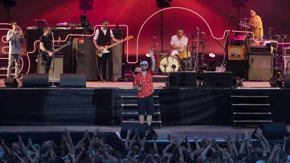Die Beatsteaks live in der Berliner Waldbühne am 9. Juni 2018