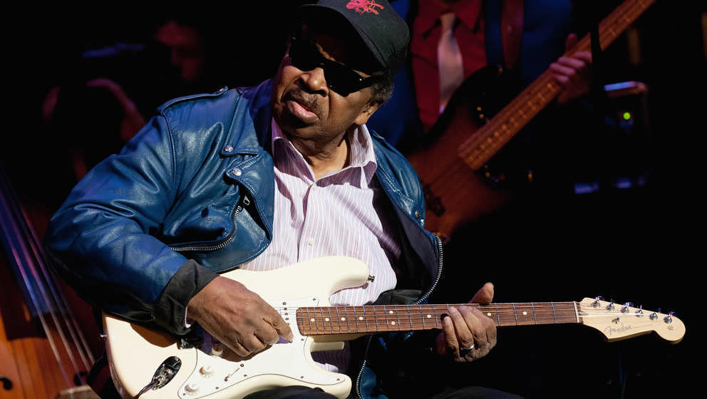 "Der Blues-Brothers-Gitarrist Matt ""Guitar"" Murphy starb am 15. Juni 2018 mit 88 Jahren"