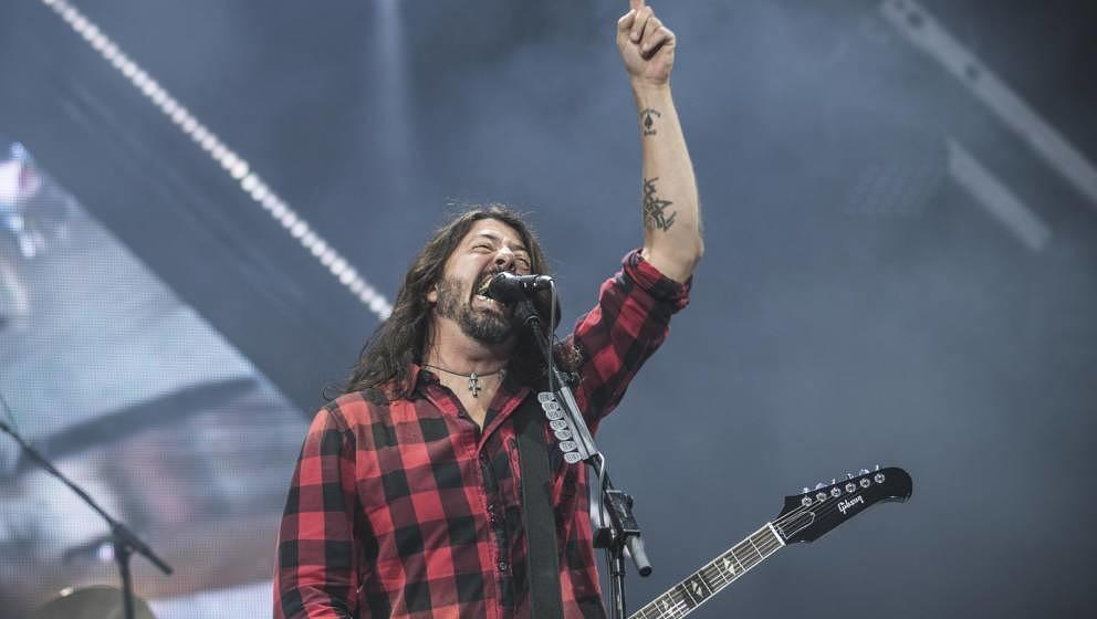 Dave Grohl mit den Foo Fighters bei Rock am Ring 2018