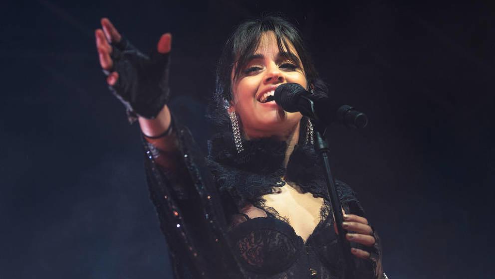 GLASGOW, SCOTLAND - JUNE 05:  Camila Cabello performs on stage at O2 Academy Glasgow on June 5, 2018 in Glasgow, Scotland.  (