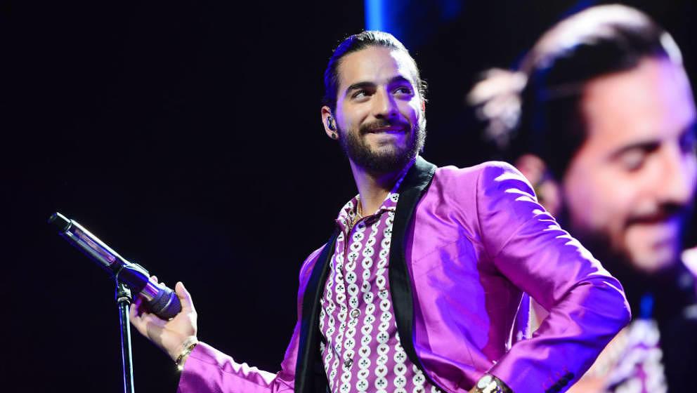 ORLANDO, FL - MAY 20:  Maluma performs at Amway Center on May 20, 2018 in Orlando, Florida.  (Photo by Gerardo Mora/Getty Ima